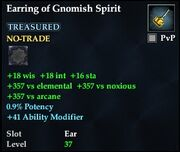 Earring of Gnomish Spirit