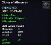 Gloves of Allurement