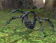 A haywire clockwork spider