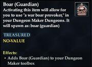 Boar (Guardian)
