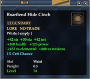 Boarfiend Hide Cinch