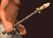 Carved Wand of Divining (Equipped)