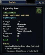 Lightning root