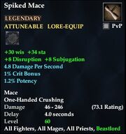 Spiked Mace