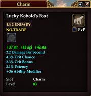 Lucky Kobold's Foot