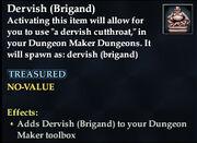 Dervish (Brigand)
