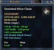 Tarnished Silver Chain