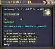 Advanced Alchemist Volume 60