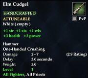 Elm Cudgel