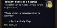 Trophy: Samirah's Scepter