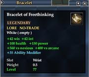 Bracelet of Freethinking