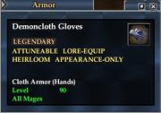 Demoncloth Gloves