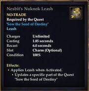 Nesbit's Nuknok Leash