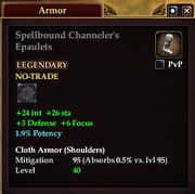 Spellbound Channeler's Epaulets