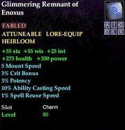 Glimmering Remnant of Enoxus