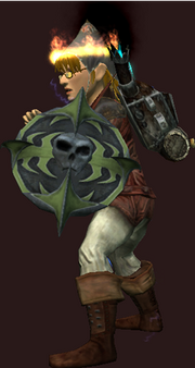 Raider's Pestilent Buckler