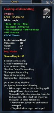 Skullcap of Stormcalling