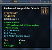 Enchanted Wrap of the Othmir