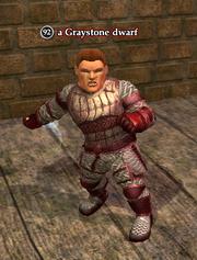 A Graystone dwarf