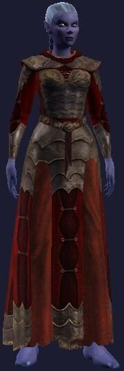 Flame Researcher's Robe (Equipped)