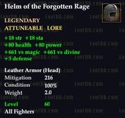 Helm of the Forgotten Rage