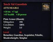 Tesch Val Gauntlets