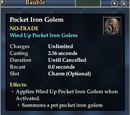 Pocket Iron Golem