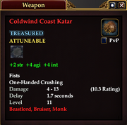 Coldwind Coast Katar