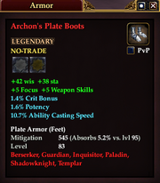 Archon's Plate Boots