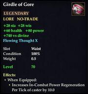 Girdle of Gore