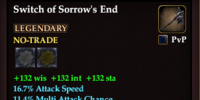 Switch of Sorrow's End
