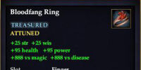 Bloodfang Ring