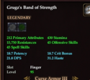 Grugz's Band of Strength