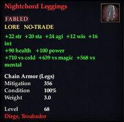 Nightchord Leggings