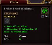 Broken Shard of Mistrust