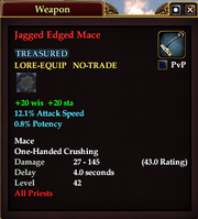 Jagged Edged Mace