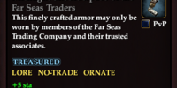 Midnight Shoulderpads of the Far Seas Traders