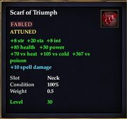 Scarf of Truimph