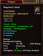 Warpriest's Maul