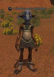 A Sandscrawler defender