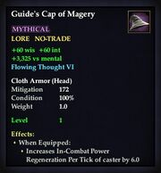 Guide's Cap of Magery