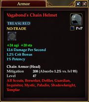 Vagabond's Chain Helmet