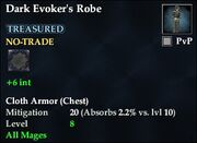 Dark Evoker's Robe