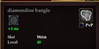 Diamondine bangle