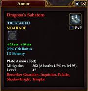 Dragoon's Sabatons