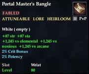 Portal Master's Bangle