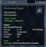 Shadowfang Dagger
