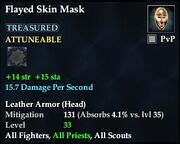 Flayed Skin Mask