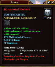 War-painted Hauberk