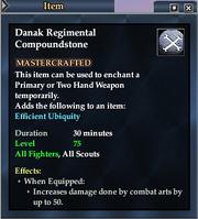 Danak Regimental Compoundstone